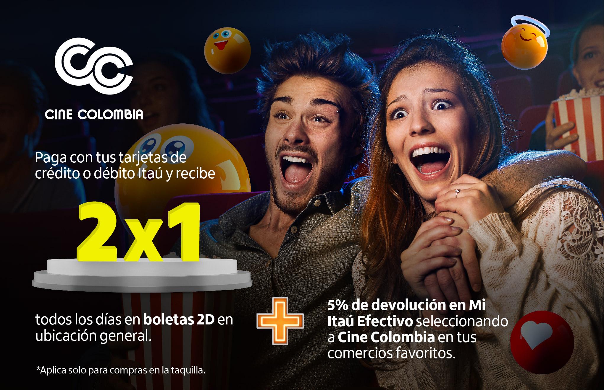Aliado del mes Cine Colombia